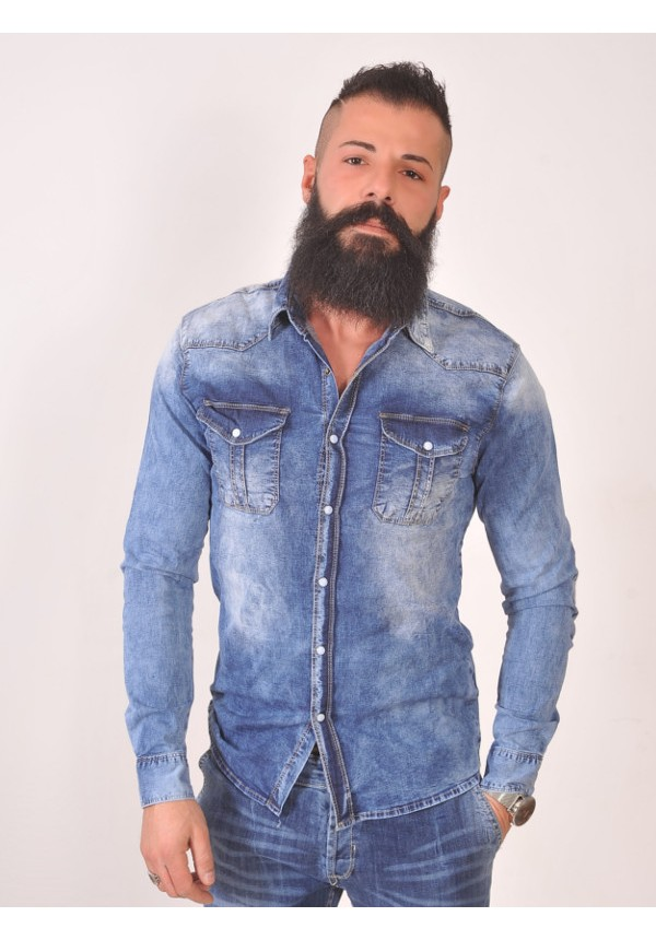 wholesale dealer fccb5 ea84d Camicia Denim - Camicie