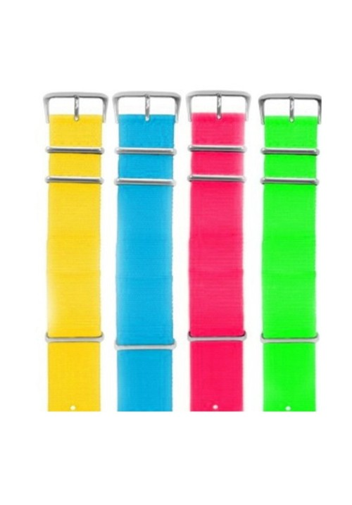 Fabric Strap Fluo
