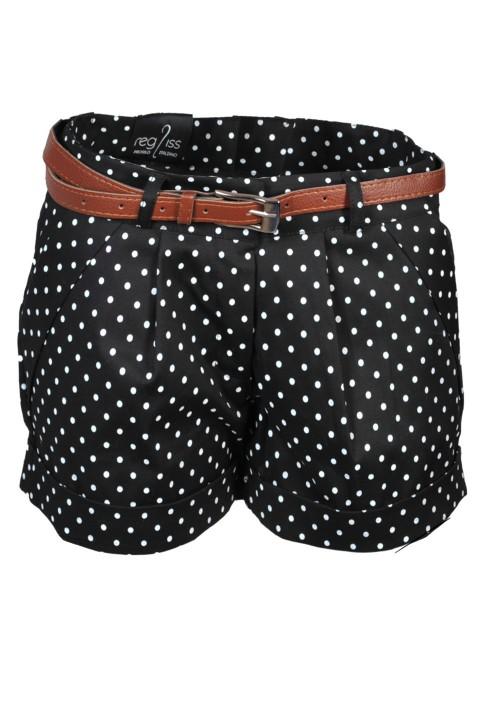 Shorts Pois Bianco